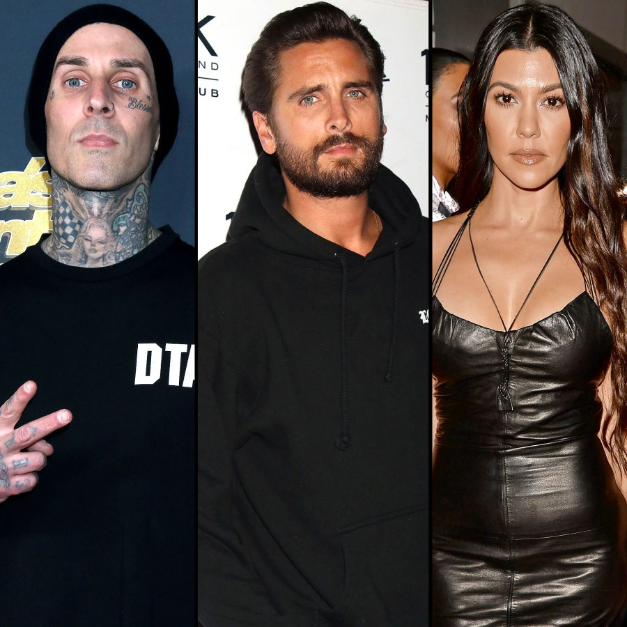 Travis Barker Seemingly Reacts to Scott Disick's Shade About Him and Kourtney