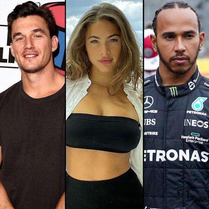 La ex Camila de Tyler Cameron no está saliendo con Lewis Hamilton