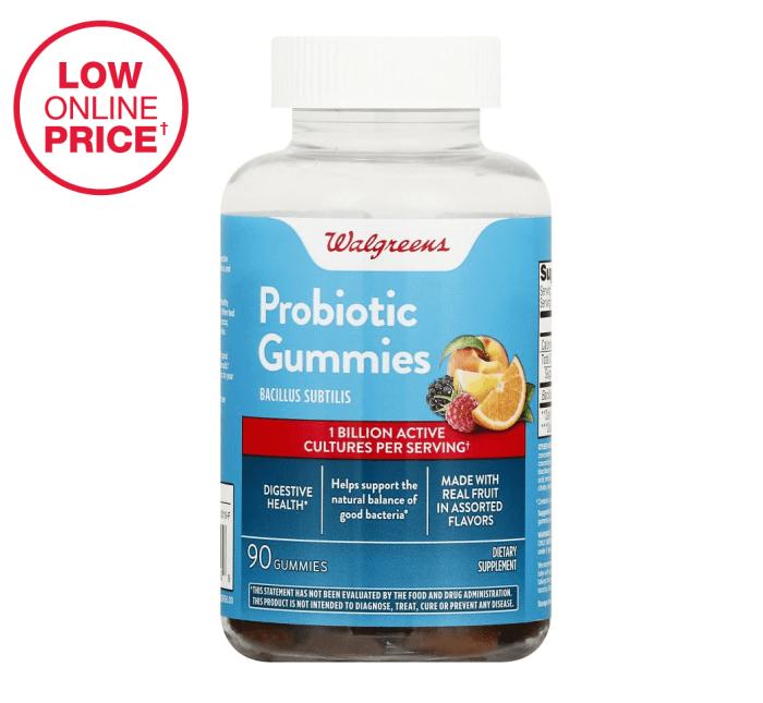 Gomitas probióticas Walgreens