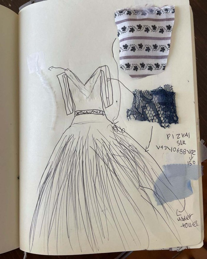 La hija de Will Kopelmans diseña vestidos de niña de las flores para su boda