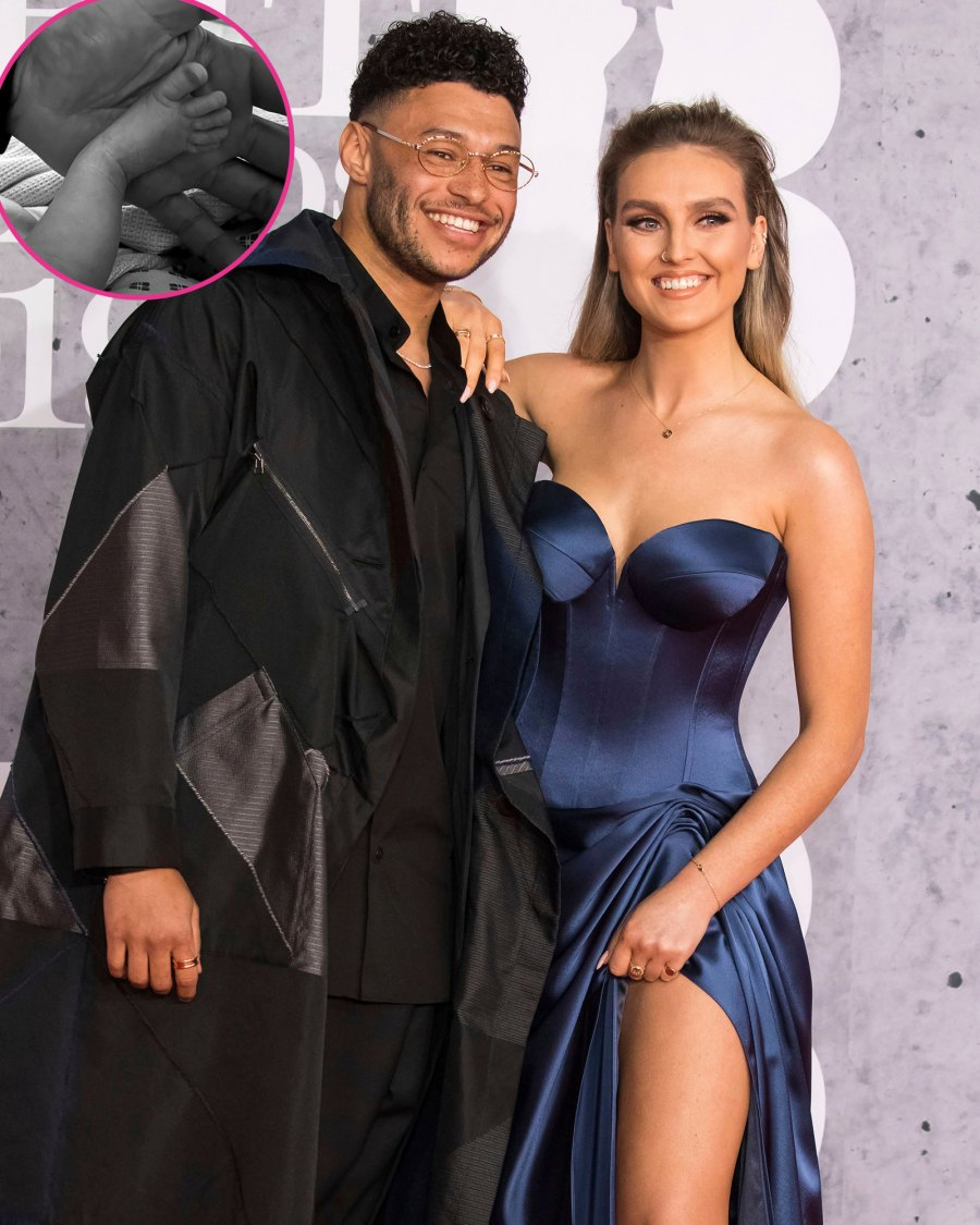 Perrie Edwards and Alex Oxlade-Chamberlain Celebs Welcoming Babies
