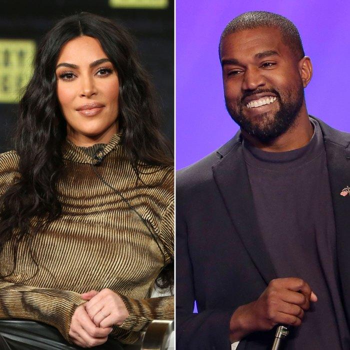 Kim Kardashian escucha el álbum 'Donda' de Kanye West después de escuchar su aparición en una fiesta