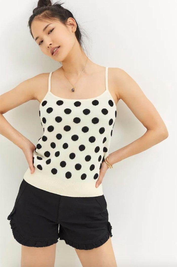 knit-pieces-polka-dot-cami