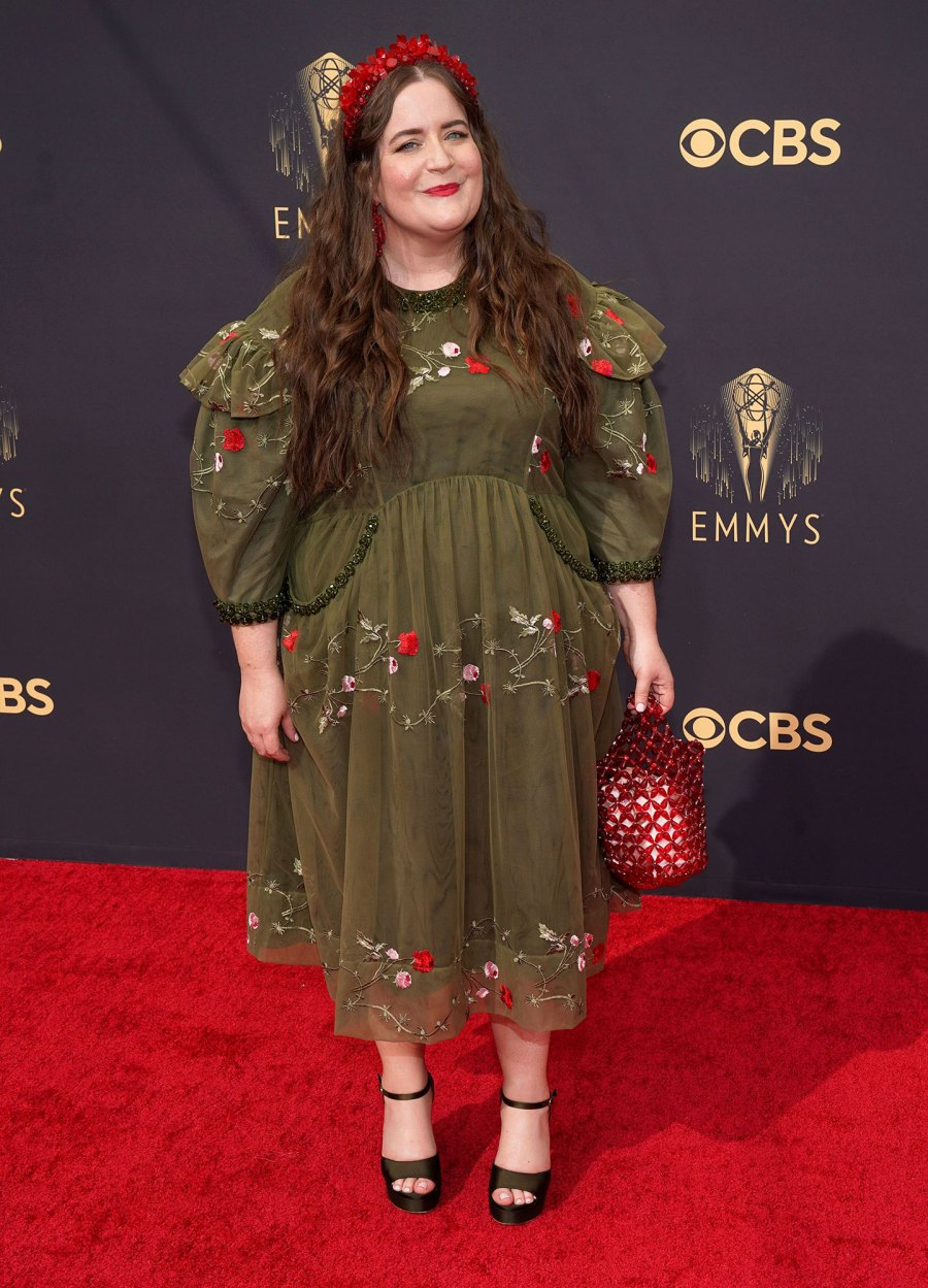 Aidy Bryant 73rd Primetime Emmy Awards Red Carpet Arrival 2021 Emmys