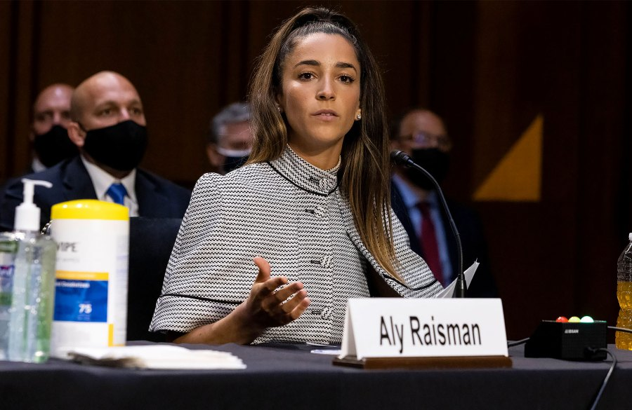 Aly Raisman, Simone Biles and More Team USA Gymnasts Testify, Slam FBI's 'Inaction'