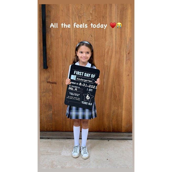 Ashlee Simpson, la hija de Jagger, comienza el jardín de infantes 3