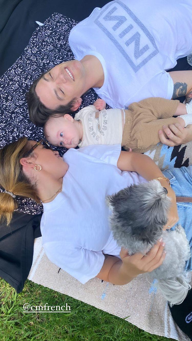 Ashley Tisdale, Christopher French's Daughter Jupiter's Album Blanket Baby