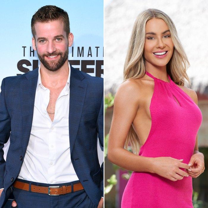 Connor Brennan y Victoria Paul de Bachelor in Paradise vistos juntos en Nashville después de la filmación