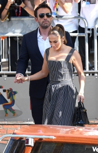 Ben Affleck Pushes Man Away for Getting Too Close to GF Jennifer Lopez in Italy