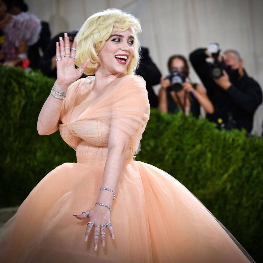 Billie Eilish Most Extravagant Celebrity Bling From the 2021 Met Gala