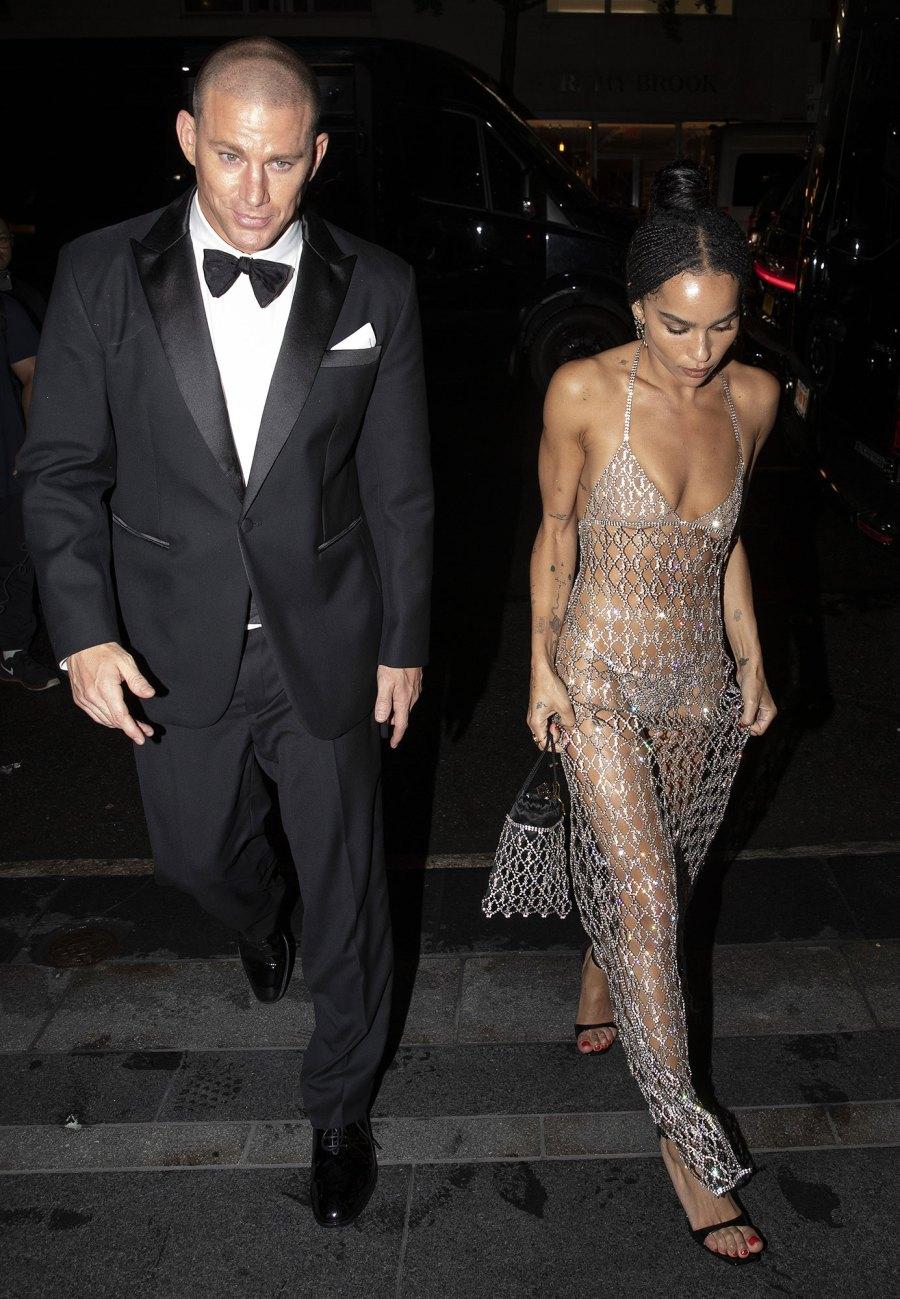 Channing Tatum and Zoe Kravitz Leave Met Gala Together After Walking Red Carpet Separately 2021 Met Gala 01