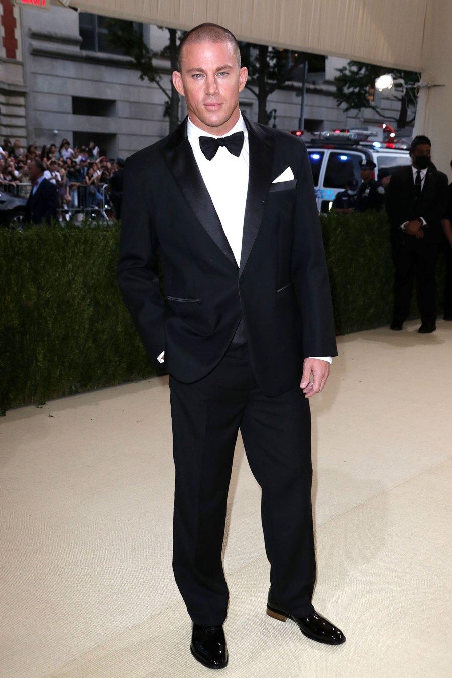Channing Tatum and Zoe Kravitz Leave Met Gala Together After Walking Red Carpet Separately 2021 Met Gala 05
