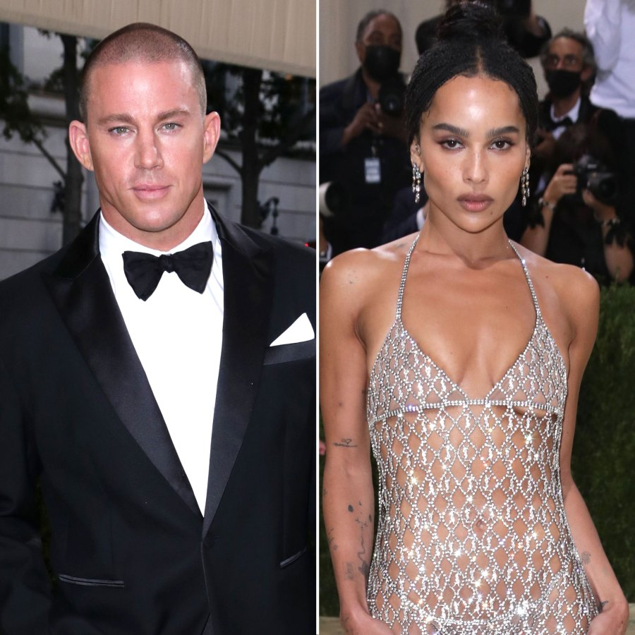 Channing Tatum and Zoe Kravitz Step Out at 2021 Met Gala Solo