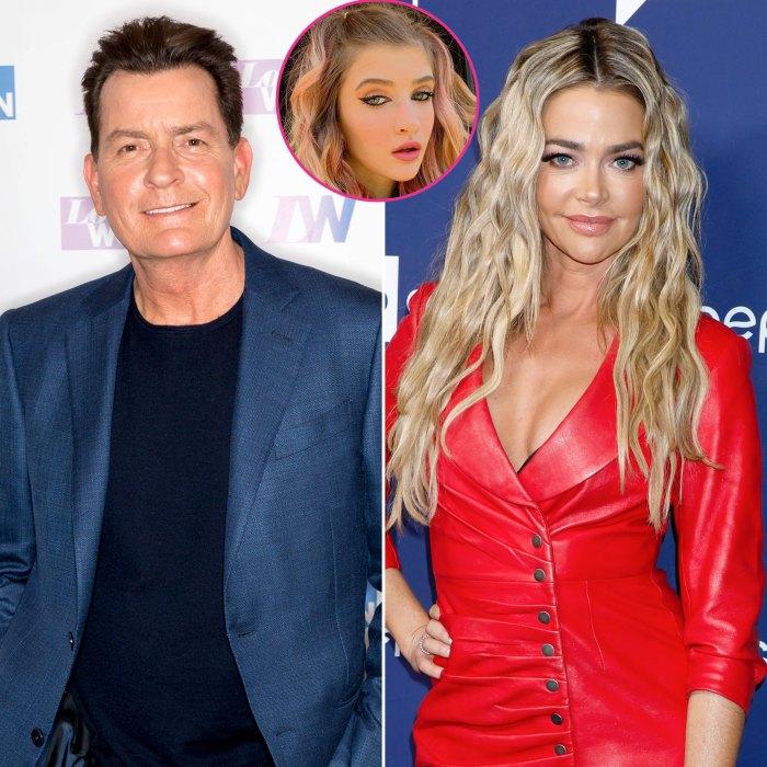 Charlie Sheen confirma que su hija Sami se mudó de la casa de Denise Richards y abandonó la escuela secundaria