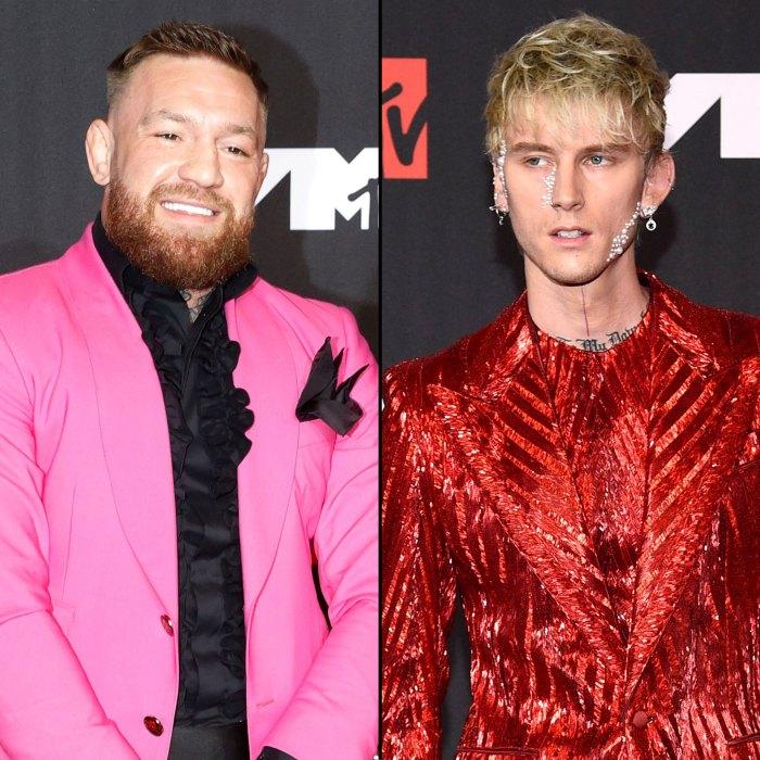 Conor McGregor niega la pelea de Machine Gun Kelly en los VMA de MTV 2021