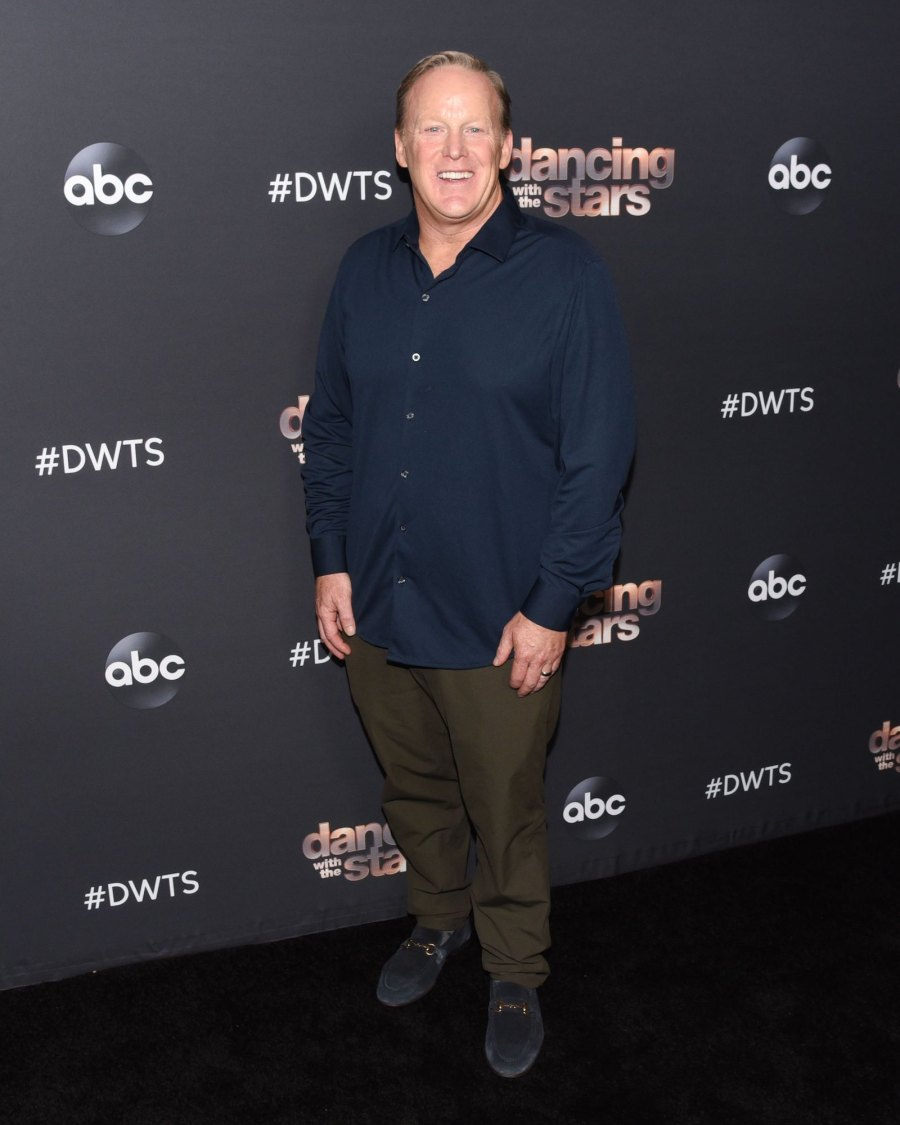 Controversial DWTS Contestants Sean Spicer