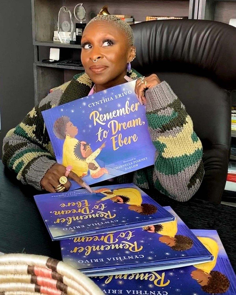 Cynthia Erivo Calls New Children's Book Dream Come True