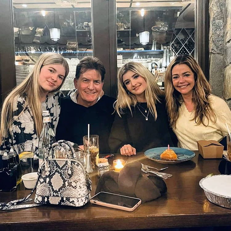 Denise Richards and Ex Charlie Sheen's Teenage Daughters: Family Album, Parenting Quotes and More