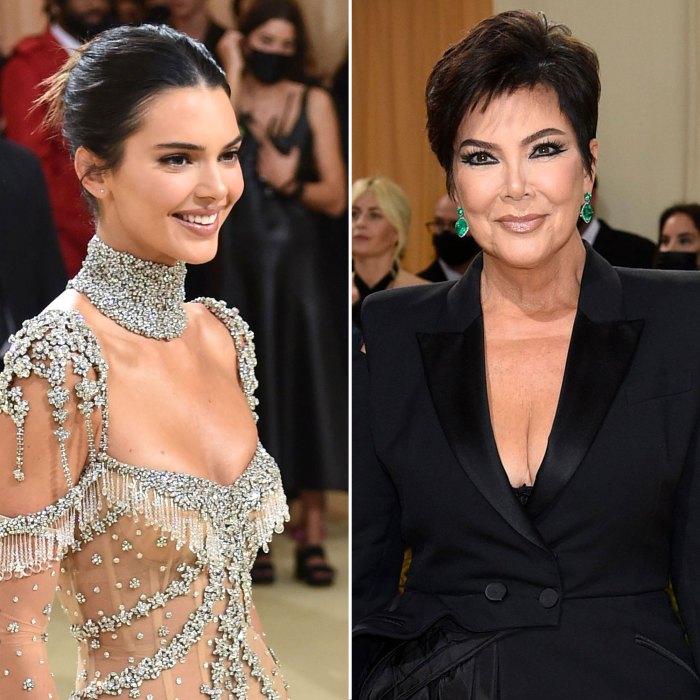 ¿Kendall Jenner no sabía que su mamá, Kris Jenner, iba a la Gala del Met 2021?