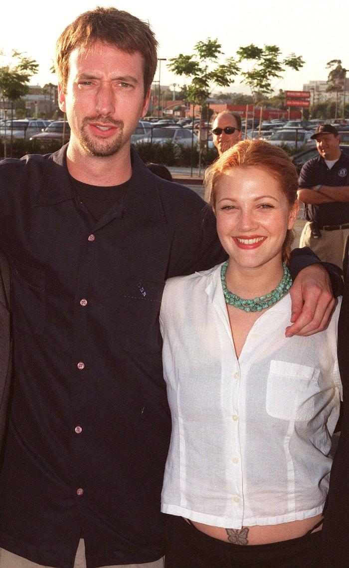 Drew Barrymore se reúne con su exmarido Tom Green en Instagram Live 3