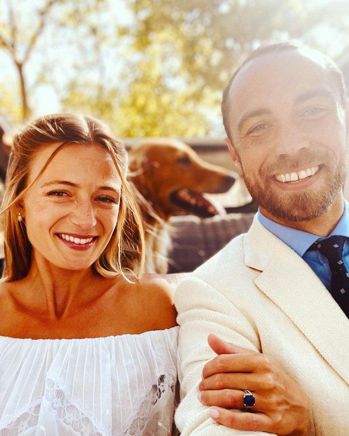 El hermano de la duquesa Kate, James Middleton, se casa con Alizee Thevenet en Francia después de dos años de compromiso