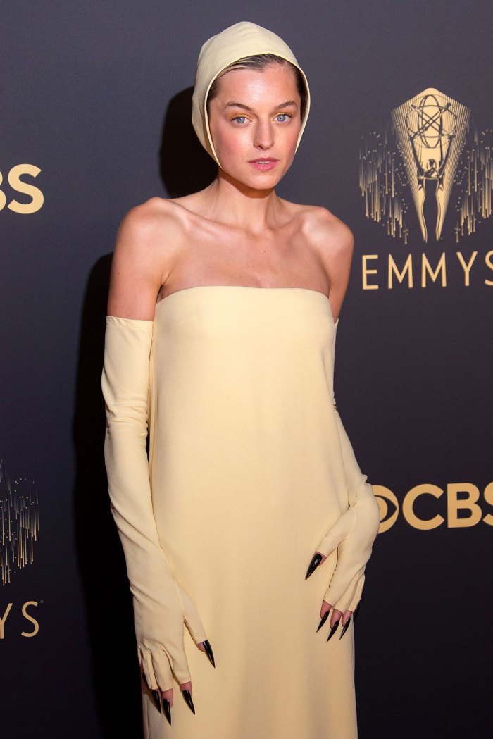 Emma Corrin 2021 Emmys Look Sparks Crucible Comparisons 3