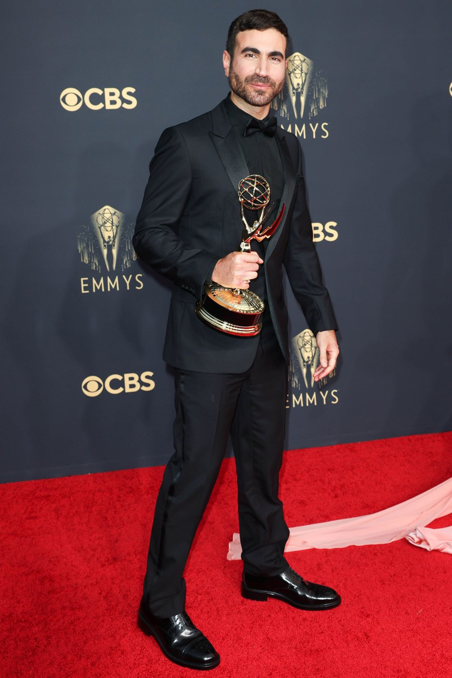 Emmy Awards 2021: 'Ted Lasso' Stars Step Out in Style: Jason Sudeikis and More