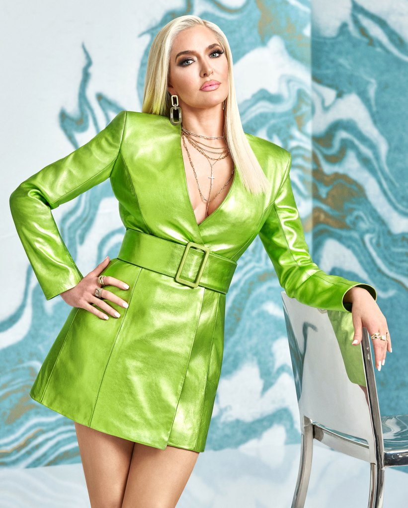 Erika Jayne Erika Girardi Defends Herself After Being Told to Quit Real Housewives of Beverly Hills 2 Green Dress