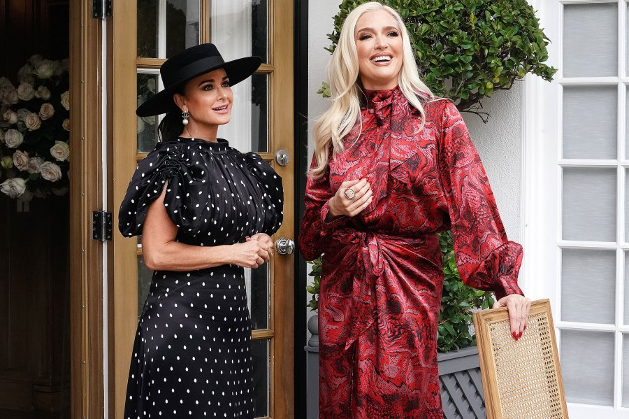 Erika Jayne Defends Herself After Being Told to Quit Real Housewives of Beverly Hills Kyle Richards