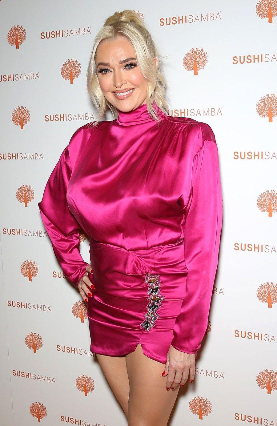 Erika Jayne Great Mood Rare Public Appearance Amid Legal Woes SUSHISAMBA