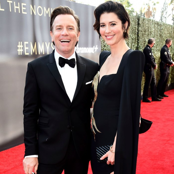 Ewan McGregor Talks His and Mary Elizabeth Winstead's Baby Boy for 1st Time at Emmys 2021