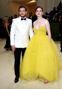 Game of Thrones Kit Harrington Rose Leslie Make Perfect Pair Met Gala 2021 Photos