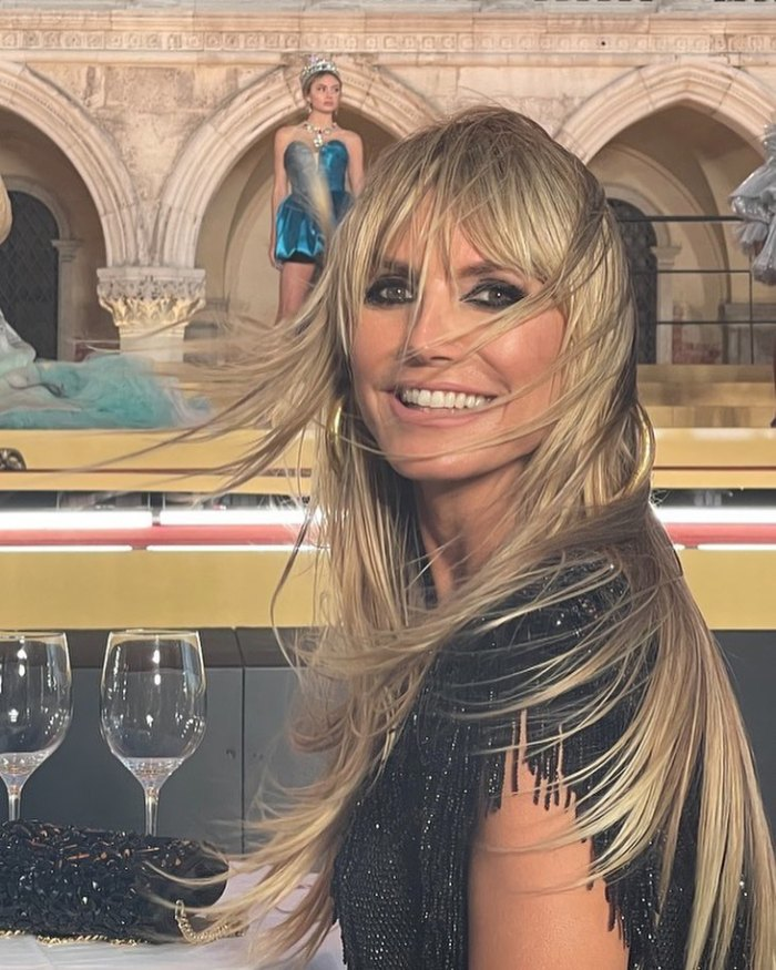 Heidi Klum Says Daughter Leni Wasn't Nervous for Dolce & Gabbana Show: 'I'm Just Going to Wing It'