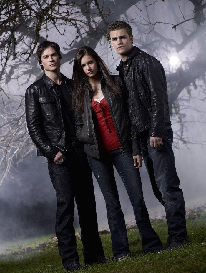 Ian Somerhalder Nina Dobrev Paul Wesley The Vampire Diaries