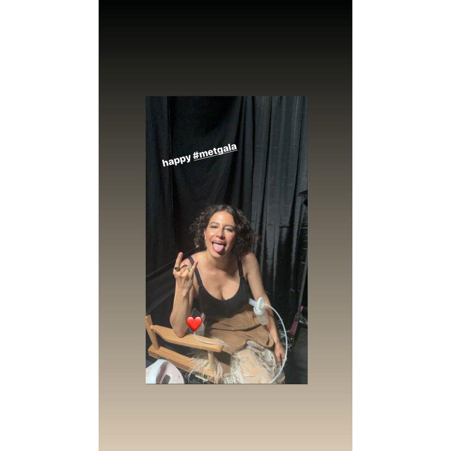 Ilana Glazer Instagram Pumping Inside the 2021 Met Gala Best Selfies and Snaps