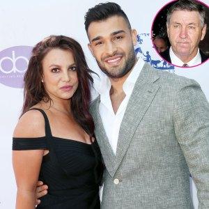 Jamie Spears Reacts Britney Spears Sam Asghari Engagement