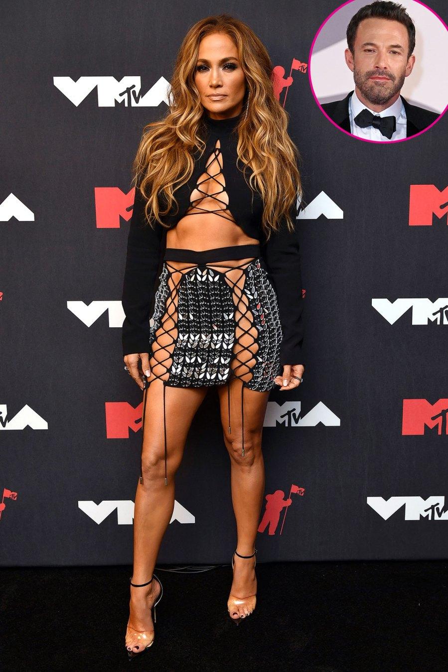 Jennifer Lopez Stuns in Skin-Baring Skirt MTV 2021 VMAs Feature