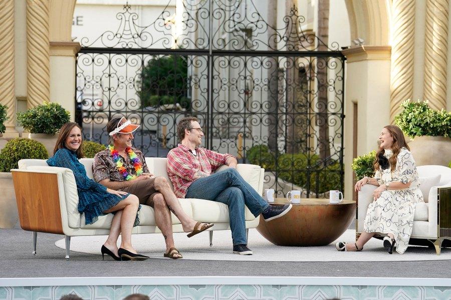 Josie Grosie Back Drew Barrymore Reunites Never Been Kissed Cast Molly Shannon David Arquette Michael Vartan