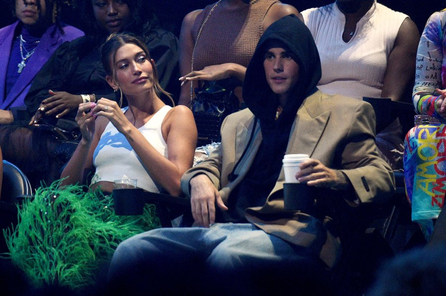 Justin Bieber and Hailey Bieber VMAs 2021 What You Didn't See on TV