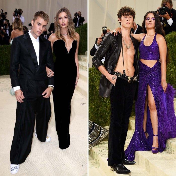 Justin Hailey Bieber se reunió con Shawn Mendes Camila Met Gala