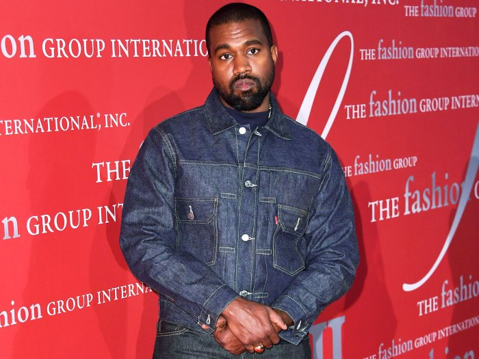 Kanye West Supports Estranged Wife Kim Kardashian Met Gala 2021 Look 2