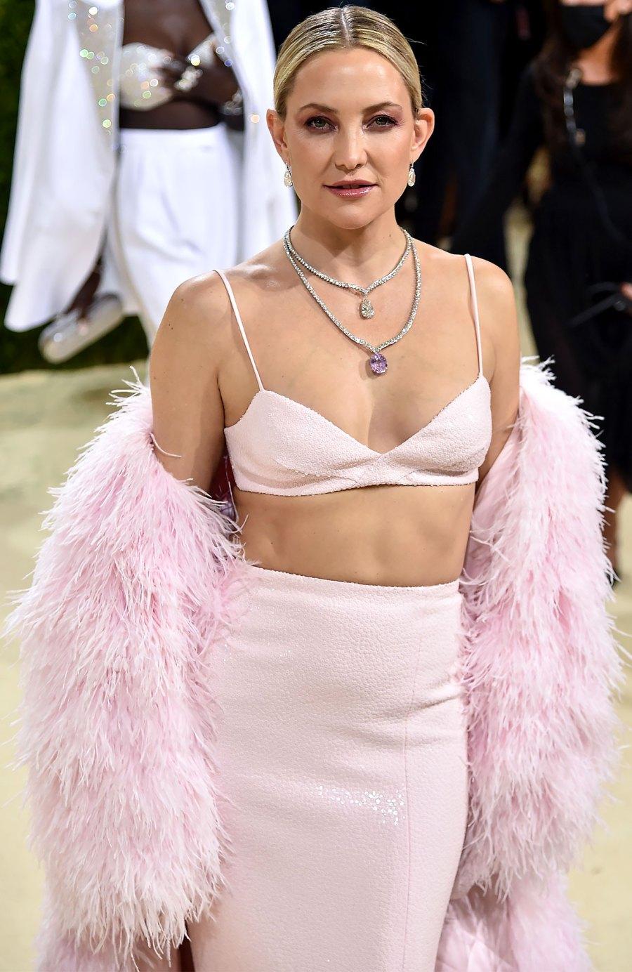 Met Gala 2021 Kate Hudson Is All Smiles at Met Gala Amid Danny Fujikawa Engagement: Pics