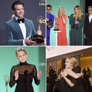 Kate Winslet Love Ted Lasso Sweeps Best Moments From Emmys Descr
