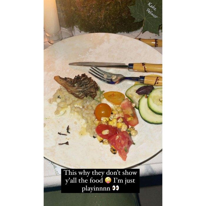 Keke Palmer Photo Food Met Gala Sends Twitter Into Frenzy