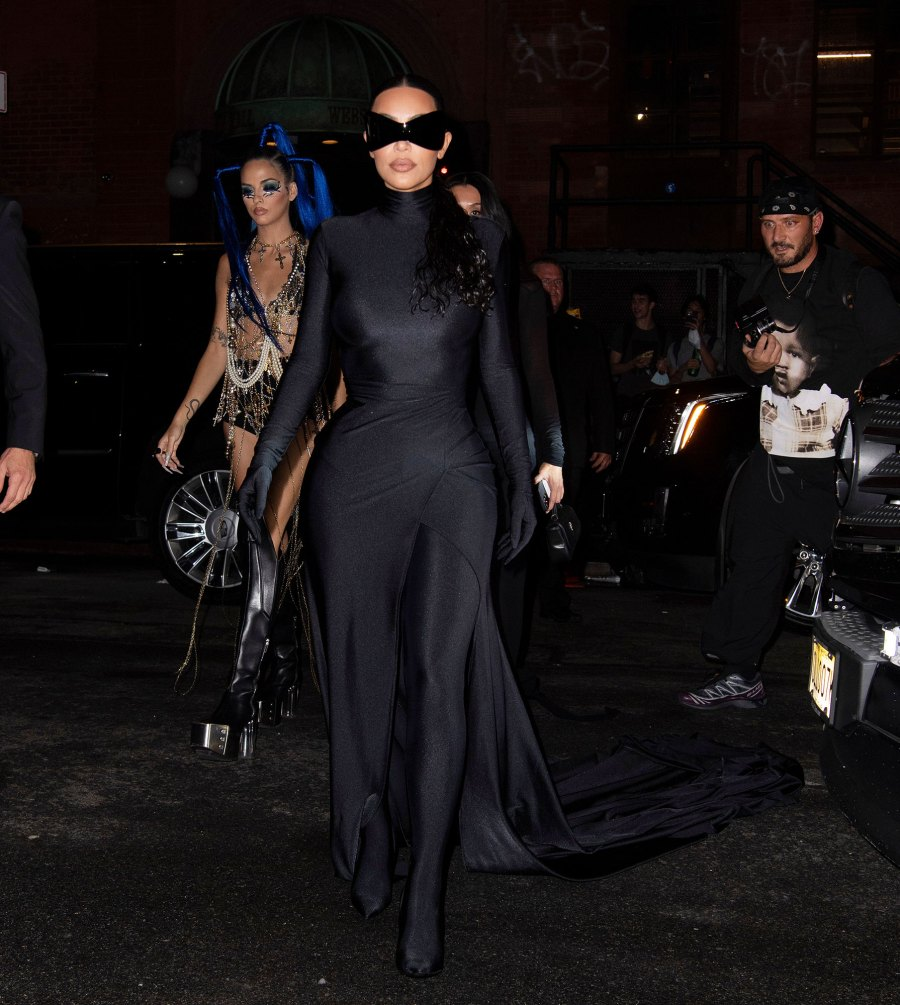 Kim K Ditches Head Mask Met Afterparty After Internet Has Field Day Met Gala 2021