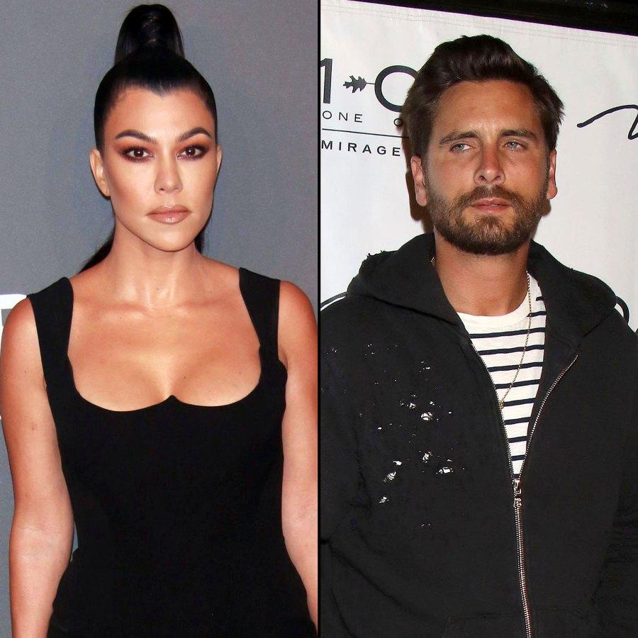 Kourtney Kardashian and Scott Disick Ignite Feud Hot Hollywood