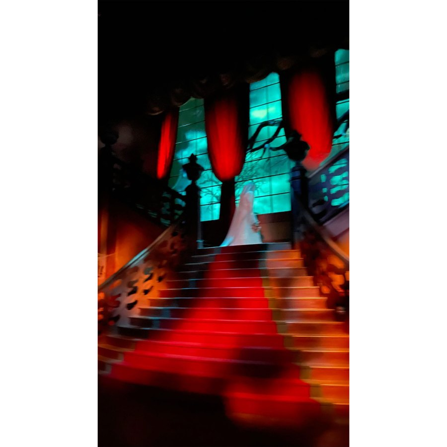 Kourtney Kardashian and Travis Barker Take Romantic Trip to Disneyland Paris 11