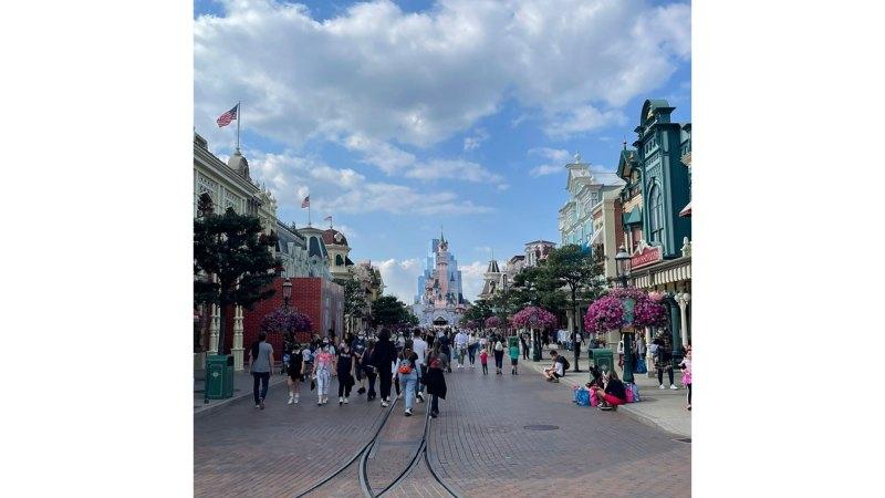 Kourtney and Travis Take Romantic Trip to Disneyland Paris Amid Scott Drama
