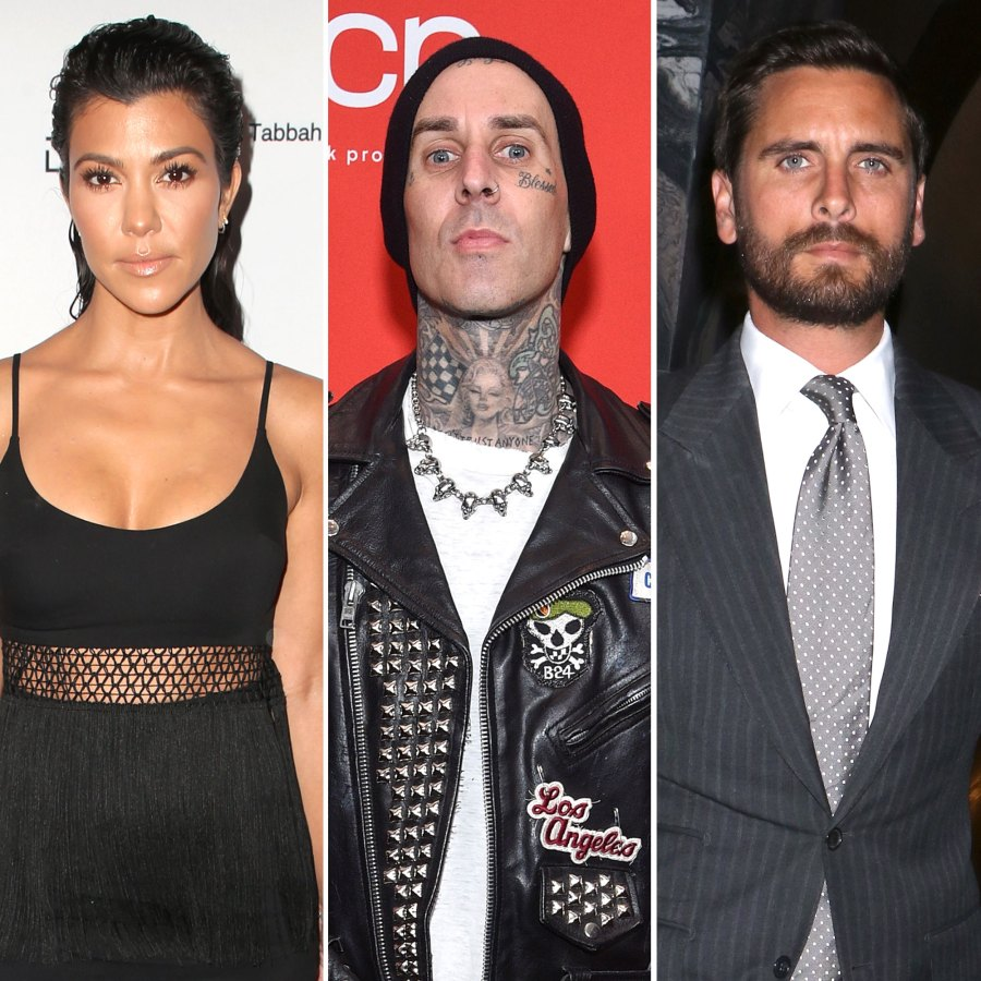 Kourtney Kardashian and Travis Barker Take Romantic Trip to Disneyland Paris Feature Scott Disick