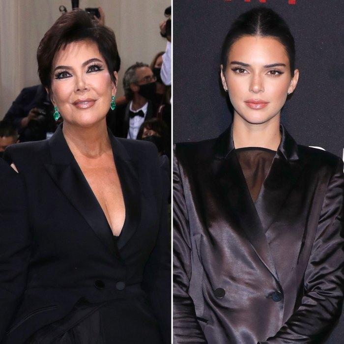 Kris Jenner le pide a su hija Kendall que se ate los zapatos en la Gala del Met 2021